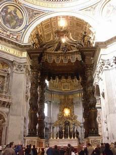 baldacchino di san pietro baldacchino di san pietro di bernini vatican city