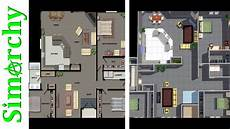 the sims 3 speed build floor plan recreation reno and