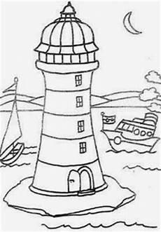 malvorlagen leuchtturm