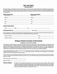 Printable Bill Of Sale For Car Free Kansas Bill Of Sale Form Pdf Template Legaltemplates