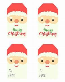 Santa Tag Free Printable Santa Claus Tags The Cottage Market