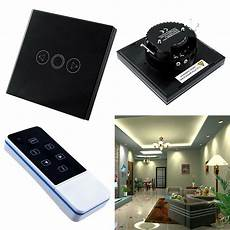Touch Wall Light Panels 1 Gang Home Light Led Touch Remote Control Dimmer Black