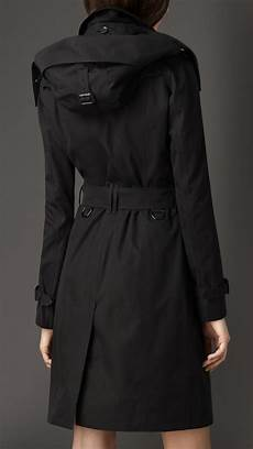hooded trench coats for burberry gabardine hooded trench coat with warmer in