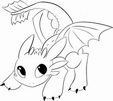 Ausmalbilder Drachen Ohnezahn Toothless Lineart By Araly Easy Baby Toothless