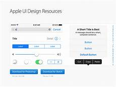Apple Design Resources For Windows Apple Ui Design Resources For Photoshop And Sketch