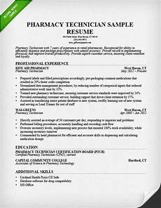 Resume Objective For Pharmacist Sample Of Pharmacy Technician Resume Sample Resumes