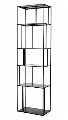 etagere metal etag 232 re metal single pols potten l 50 cm noir l