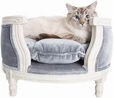 Sofa Pet Bed For Dogs Png Image by Lord Lou Luxury Cat Sofa George Pile Grey Pet Furniture
