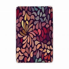 abstract colorful floral pattern blanket soft warm cozy