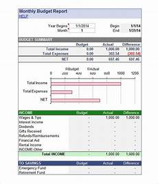 Budget Reporting Templates Excel Budget Template 23 Free Excel Documents Download
