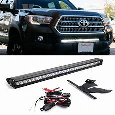 3rd Gen Tacoma Led Lights Ijdmtoy 30 Quot 150w High Power Cree Led Light Bar With Hidden