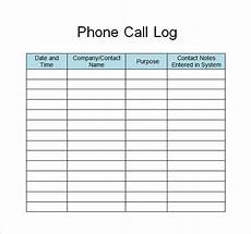 Employee Call Out Log Template Free 30 Sample Log Templates In Pdf Ms Word Excel