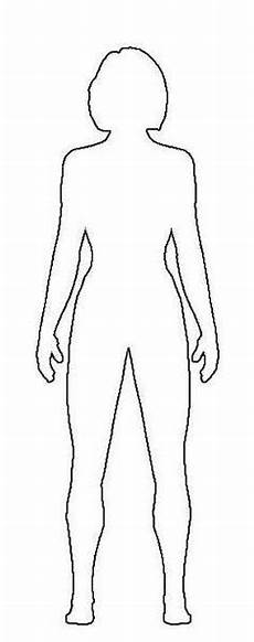 Outline Of A Female Body Template Human Body Template Female By Myraethcorax Drawings