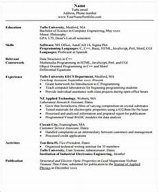 Sample Cv For Engineering Students 20 Engineering Resume Templates In Pdf Free Amp Premium