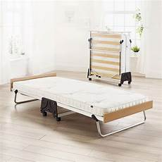 j bed folding bed with pocket sprung anti allergy mattress