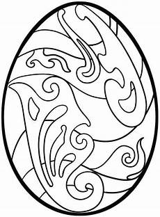 Coloring Eggs Easter Egg Coloring Pages