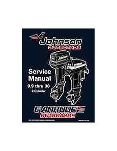 1996 Johnson Evinrude Quot Ed Quot 9 9 Thru 30 2 Cylinder Service