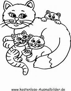 Malvorlage Katzen Kostenlos Ausmalbild Katzenfamilie 131 Malvorlage Katzen