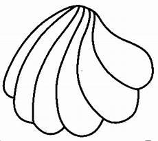 Muschel Ausmalbilder Malvorlagen Skizzierte Muschel Ausmalbild Malvorlage Tiere