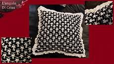 uncinetto cuscini cuscino all uncinetto quot stellato quot uncinetto facile passo