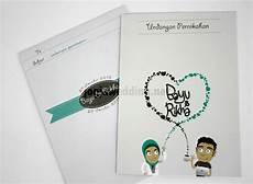 62 contoh desain undangan pernikahan unik cocok untuk kamu