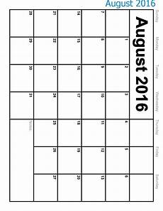 Printable Calendar August Free Printable Calendar 2019 Free Printable Calendar August