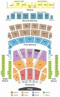 Auditorium Theatre Seating Chart Chicago