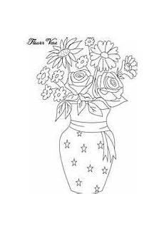Ausmalbilder Blumenvase Ausmalbilder Blumenvasen21 Blumenzeichnung Blumen