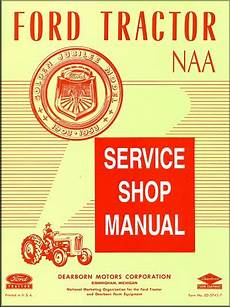 Naa 1953 Ford Jubilee Tractor Manual Ed 5745 7