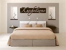 wanddeko schlafzimmer kuschelzone wandtattoo aufkleber schlafzimmer spruch