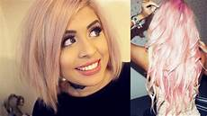 how to get pastel pink hair from home tutorial