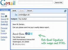 Creating A Professional Email How To Create Html Signatures In Gmail With Images And Logos