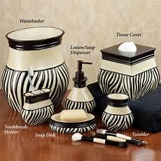 zebra bathroom ideas zuma zebra bath accessories