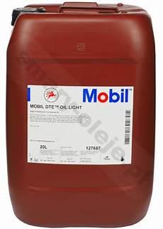 Dte Oil Light Mobil Mobil Dte Oil Light Opak 20 L Smary Oleje Pl
