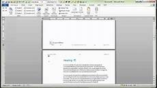 Word Templates Reports Demonstration Of Word Report Template Youtube