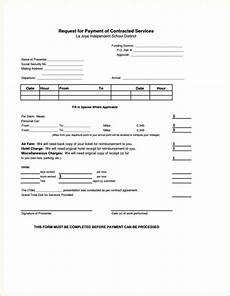 Monthly Payment Contract 0 Hour Contract Template Sampletemplatess Sampletemplatess