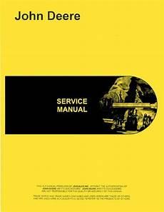 John Deere All 2 Cylinder Power Trol Service Manual