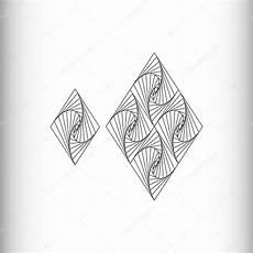 losango preto e branco padr 227 o geom 233 trico desenho