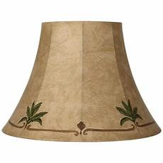 Palm Leaf Light Shade Palm Leaf Faux Leather Lamp Shade 9x18x13 Spider