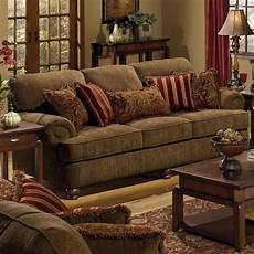 Sofa Pillows Decorative Sets Brown 3d Image by Sofa With Rolled Arms And Decorative Pillows