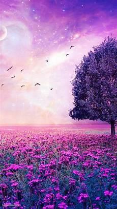 live flower wallpaper iphone purple flower garden wallpaper in 2019 iphone