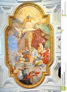 fresco italy fresco in san pietro in vincoli church rome italy