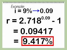 Annual Interest Rate How To Calculate Effective Interest Rate 7 Steps With