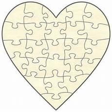blanko holz puzzle herz 24 teile 56x56 cm zum selbst