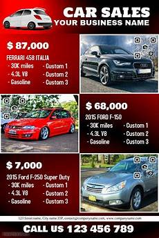 Car Sale Flyer 41 Best Car Dealer Flyer Diy Images On Pinterest