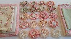 fabric crafts shabby chic gorgeous shabby chic fabric flowers