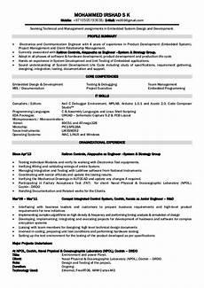 Electronics Engineer Resume Samples Electronics Engineer Resume Foramt