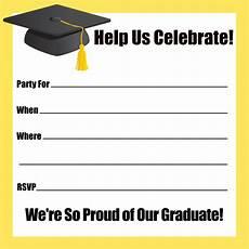 Graduation Invitation Maker Free Print Free Graduation Invitation