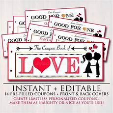 Boyfriend Coupon Book Template Editable Love Coupon Book Instant Download Printable Love