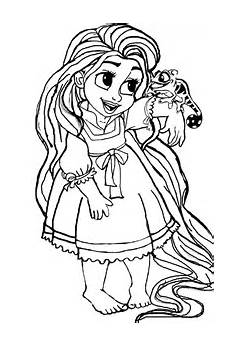 Ausmalbilder Rapunzel Baby Everything Tangled Rapunzel Eugene Themed Ideas